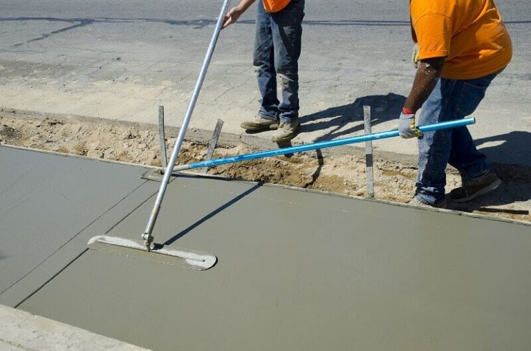 concrete sidewalk Service