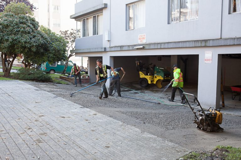 residential paving preparation