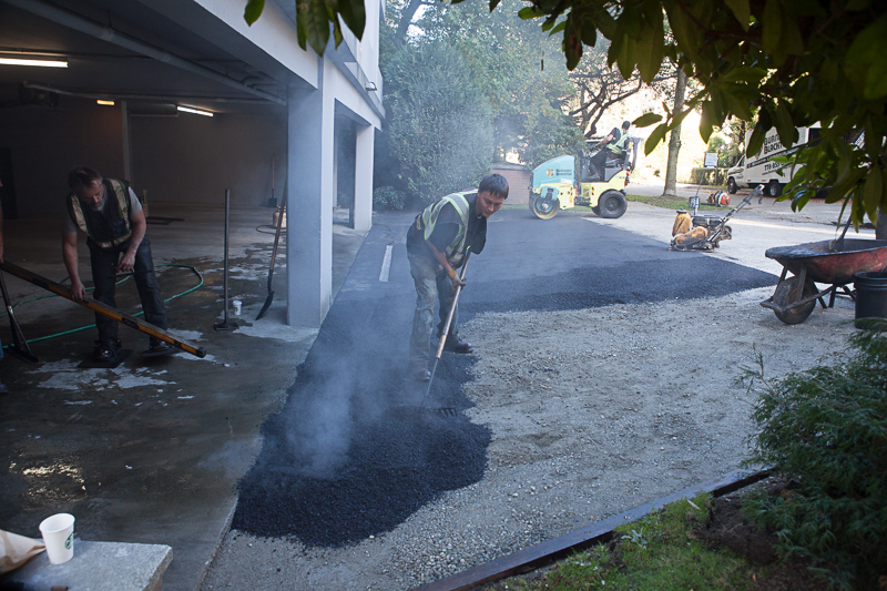 Strata Asphalt And Paving Project Done By Burnaby Blacktop
