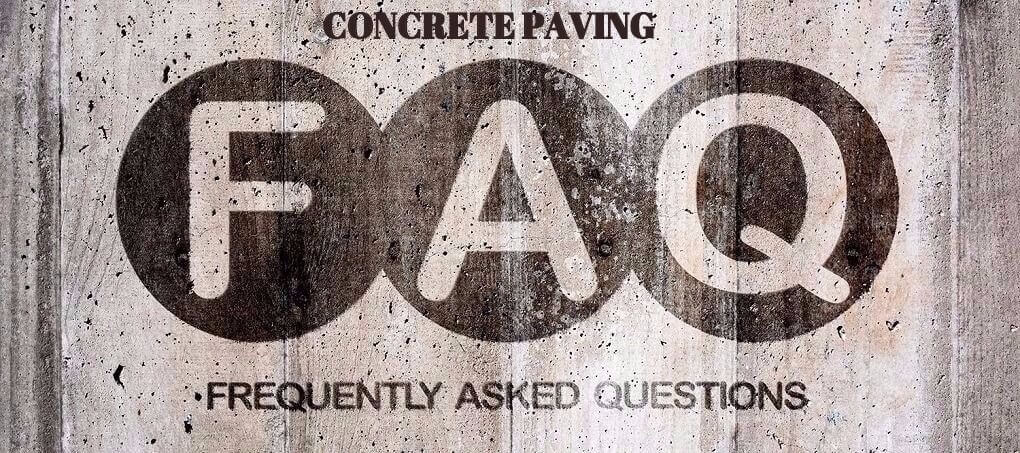 Concrete Paving Frequently Asked Questions | Burnaby