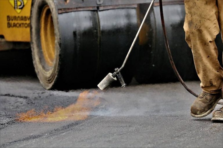 commercial paving flame
