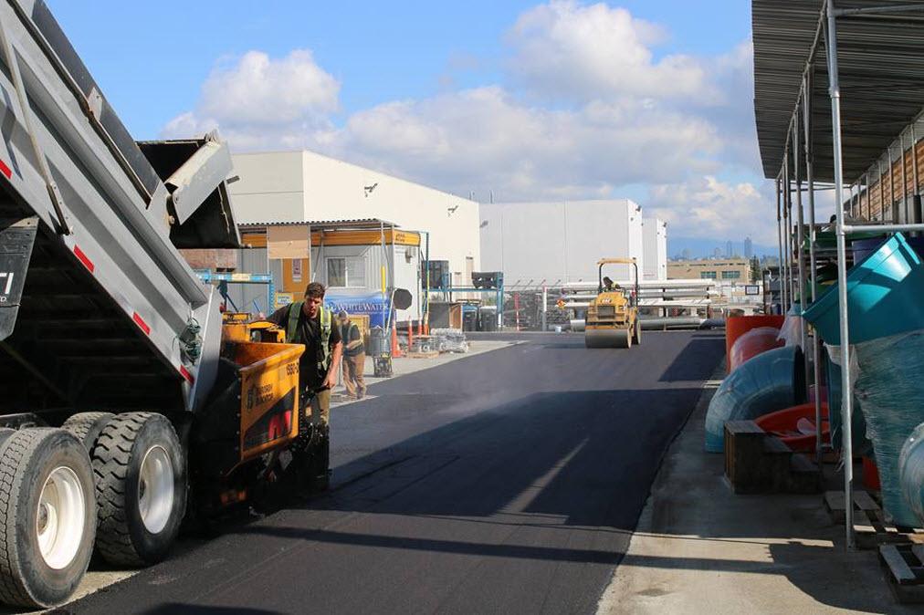 Commercial Asphalt and Concrete Projects 2017
