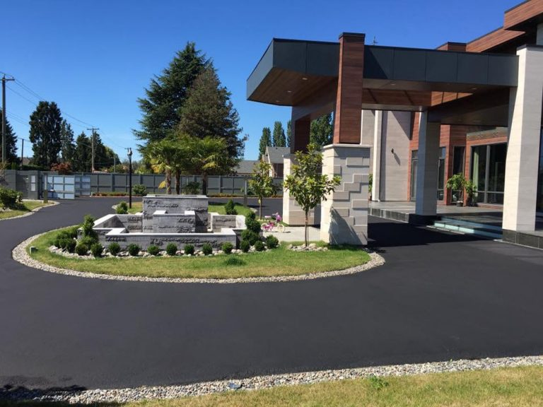 residential paving driveway
