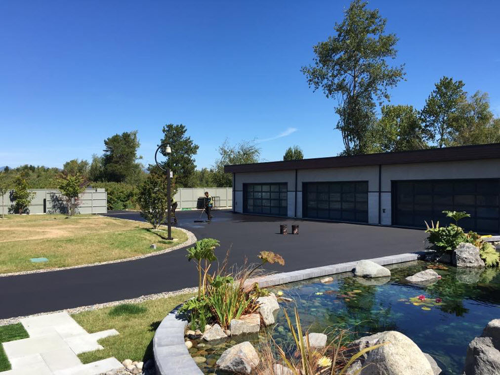 Residential Driveway Paving Projects 2017