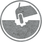 pothole repair icon