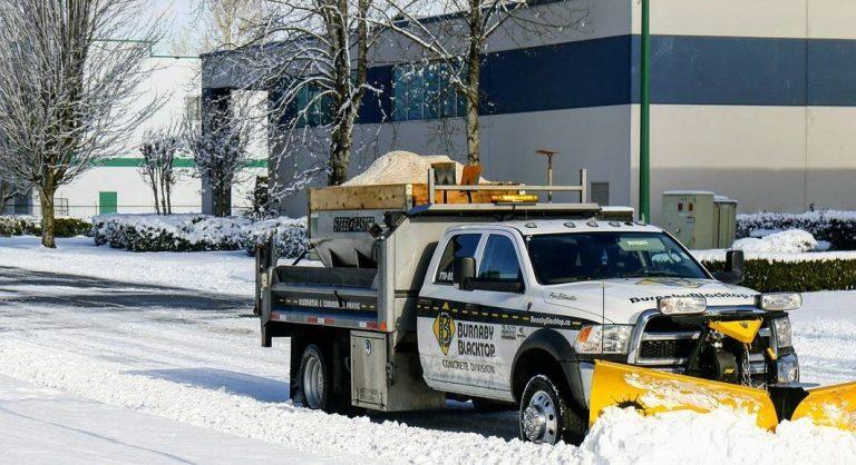 Burnaby Blacktop snow removal