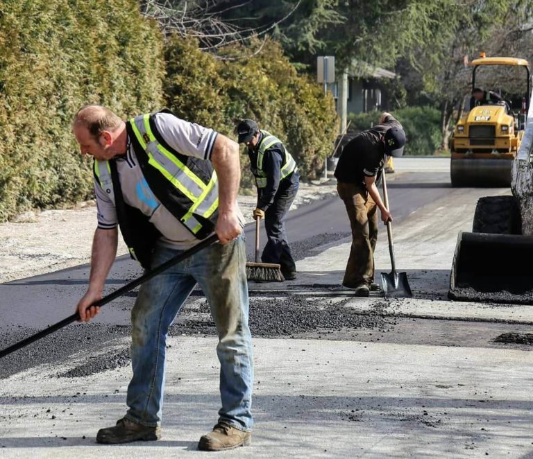 asphalt paving services in burnaby