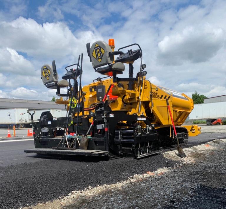 asphalt commercial paving services