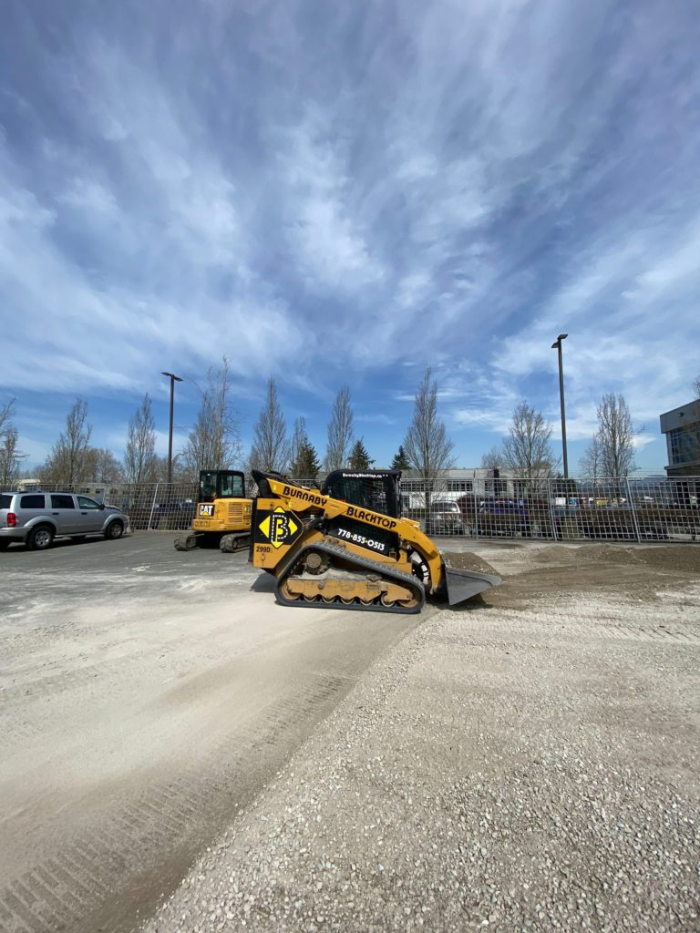 site preparation for paving