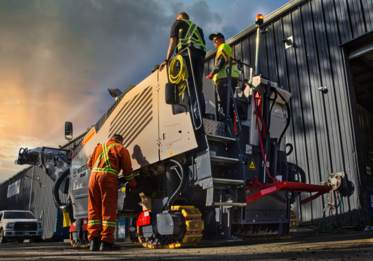 asphalt milling paving services by burnaby blacktop