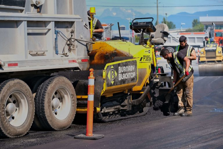 concrete paving services by burnaby blacktop