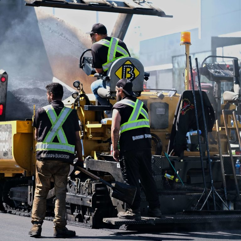 burnaby blacktop crew for paving services